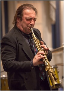 Jazz great Greg Abate Plays Chan's  Saturday night.