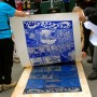 Check out steamroller printmaking demos from 11am-2pm Saturday at this weekend's Arts Marketplace in Pawtucket.