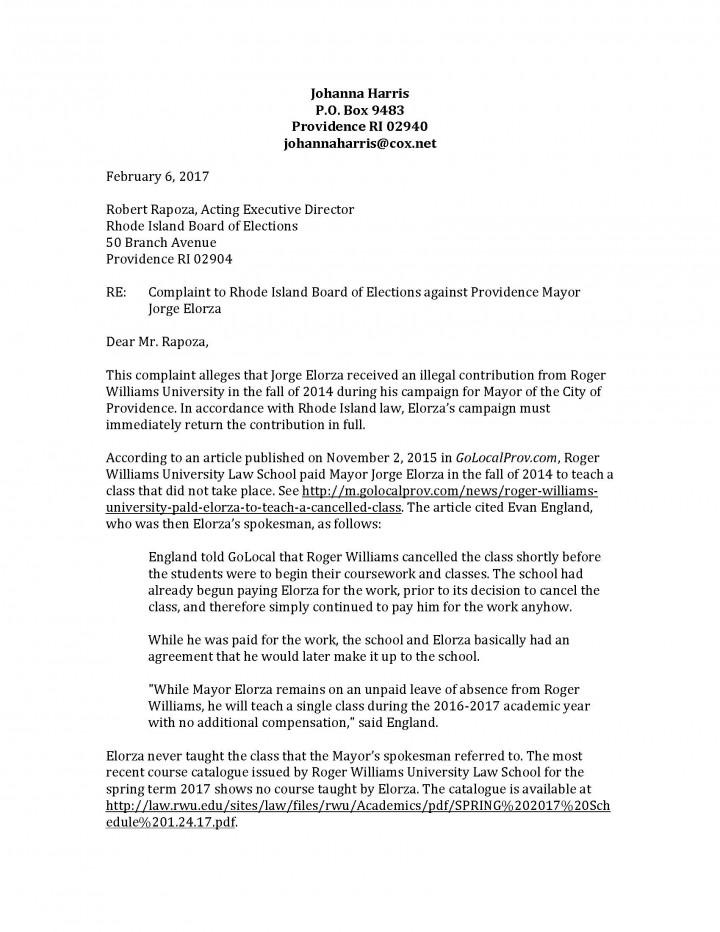 Golocalprov top watchdog alleges elorza received illegal harris complaint letter against elorza 2017 spiritdancerdesigns Choice Image