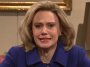 Kate McKinnon as Hilary Clinton on SNL.