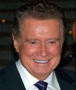 Regis Philbin will be at the RI Convention Center on Saturday