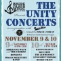 The Unity Concerts, a two-day concert fundraiser will take place at The Ocean Mist in Wakefield on Saturday, November 9, from 6 p.m. to 1 a.m., and Sunday, November 10, from 2 p.m. to midnight.