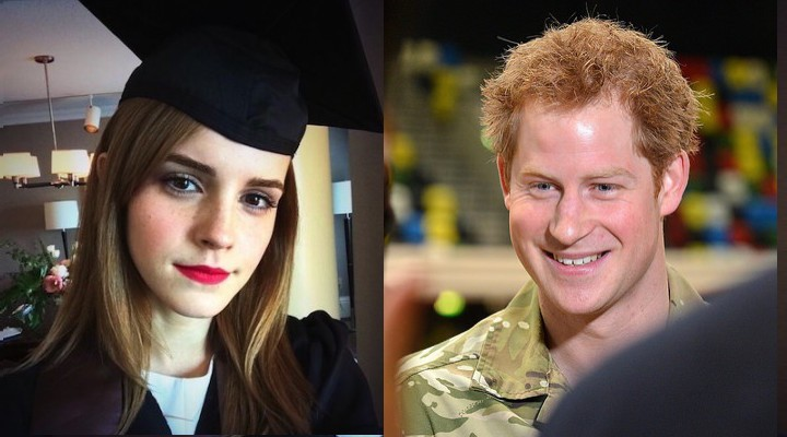 Prince harry and emma watson are reportedly dating