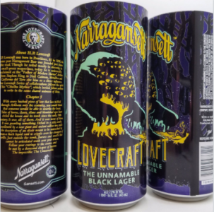 Narragansett has released a new Lovecraft-inspired beer - and has weighed in the more controversial aspects of the famous Providence author.