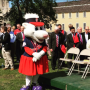 PawSox owners, elected officials -- and mascots -- were on hand at Tuesday's announcement in Pawtucket