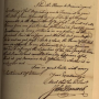 A Letter from John Hancock to Governor William Greene, dated December 16, 1782, which is now available for viewing thanks to the new State Archives Online Catelog.