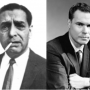 Raymond Patriarca (L) and George Lincoln Rockwell (R)