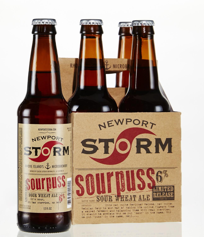 Golocalprov newport storm brewery releases new sourpuss beer for Rhode island craft beer