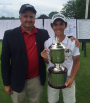 RI State Amateur Champion Davis Chatfield is competing in Northeast Amateur
