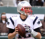 Tom Brady threw for three touchdown passes in Patriots win