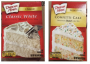 Duncan Hines cake mix is being recalled PHOTO: RIHealth