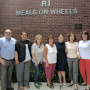 Meals on Wheels names Kaplan and Sullivan(pictured 3rd and 4th from left) Interim Co-Executive Directors. PHOTO: Meals on Wheels Facebook