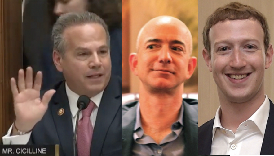 US Lawmakers Propose Breaking up Amazon, Apple, Google, Facebook to Prevent Monopoly