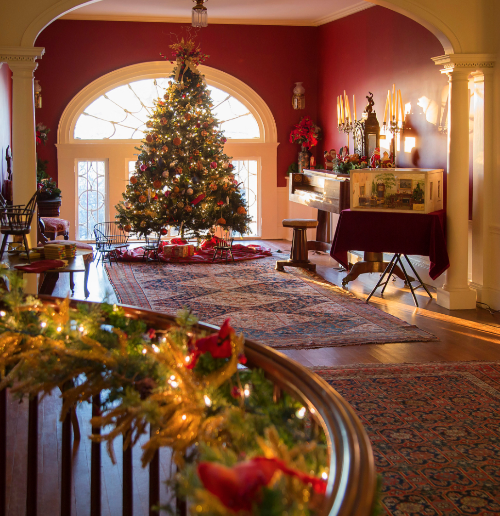 Golocalprov Linden Place Mansion Set To Open For Christmas Season