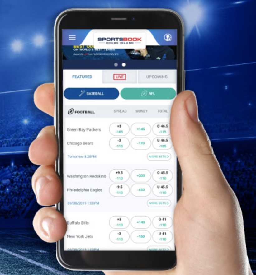 Mobile sports betting app r montage betting online