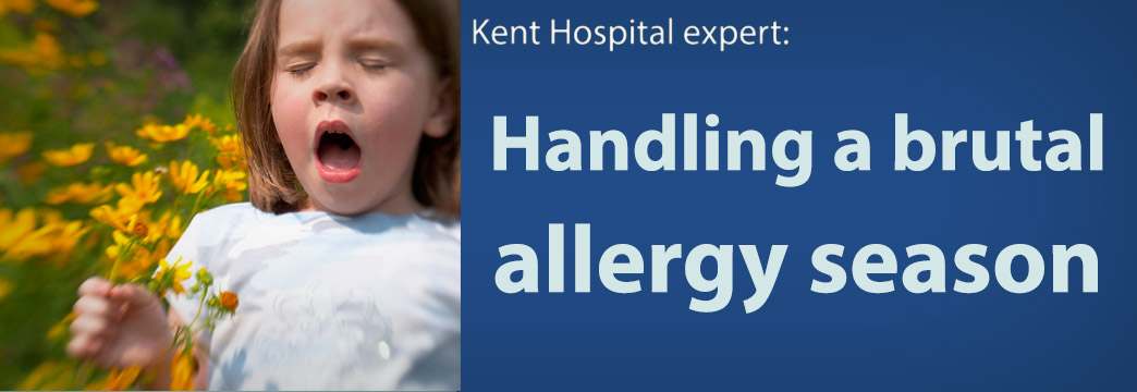 Dealing With Late Spring Allergies—Kent Hospital Expert