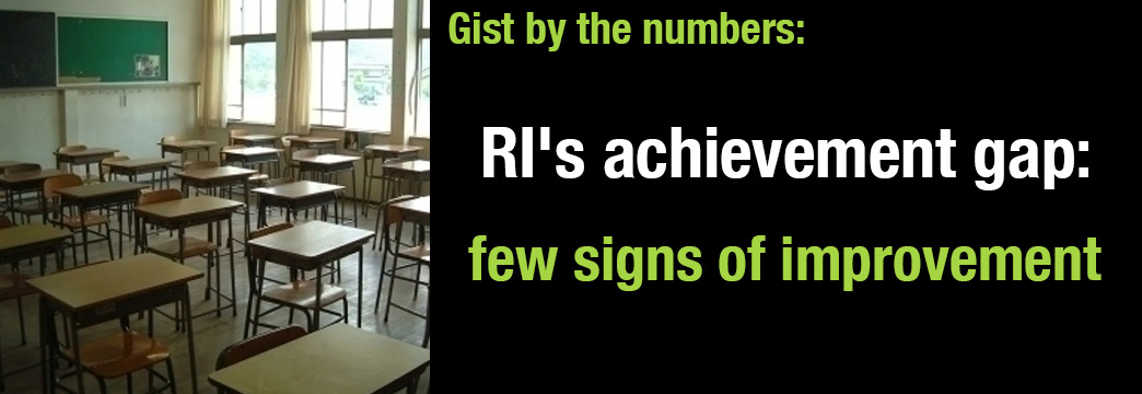Gist by the Numbers: Achievement Gap Failing to Improve