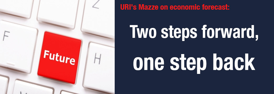 URI's Mazze on Economic Forecast: Two Steps Forward, One Step Back