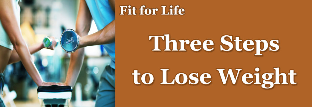 Fit for Life: Want to Lose Weight? Ready, Set, GO!