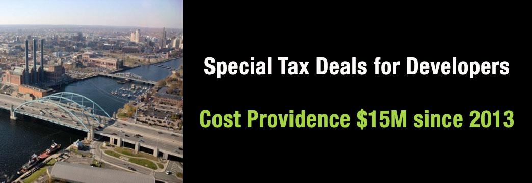 Special Tax Deals for Developers Cost Providence $15 Million Since 2013