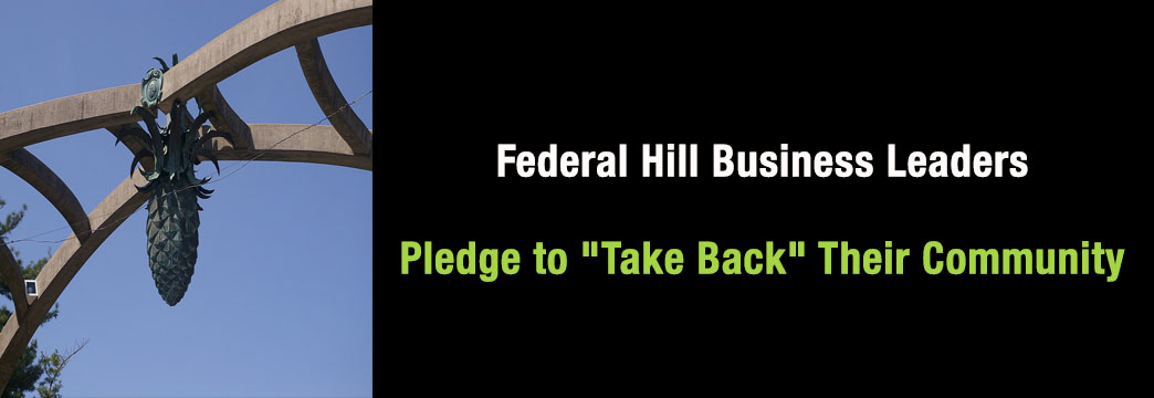 "Federal Hill Business Leaders Pledge to ""Take Back"" Their Community"
