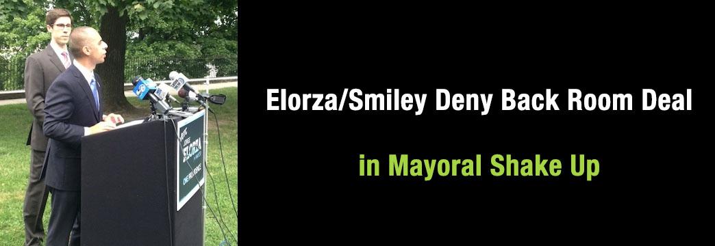 Elorza/Smiley Deny Back Room Deal in Mayoral Shake Up