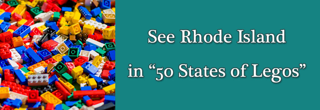 "See Rhode Island in ""50 States of Legos"""
